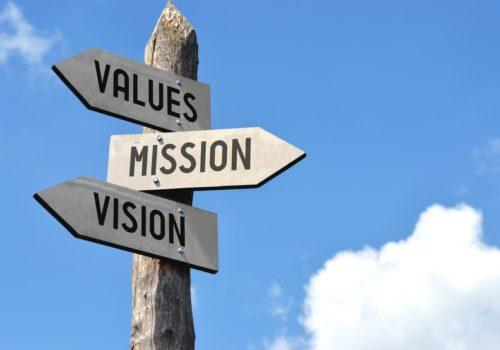mission vision valeurs entreprise