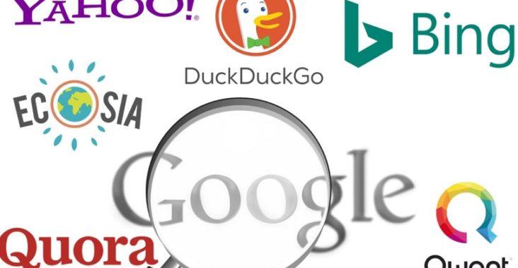 moteurs de recherche alernatifs google